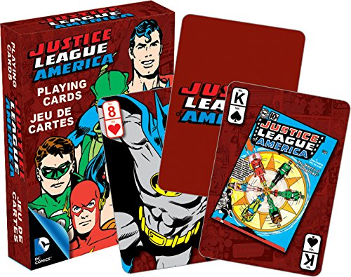 Justice League Playing Cards