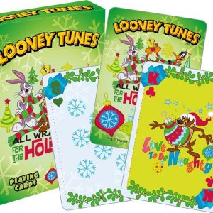 Looney Tunes Christmas Playing Cards