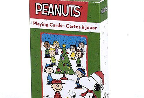 Peanuts Christmas Playing Cards