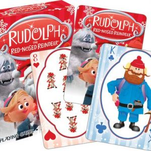 Rudolph Christmas Playing Cards