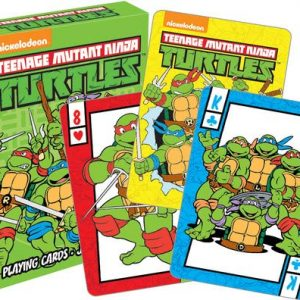 Teenage Mutant Ninja Turtles Playing Cards