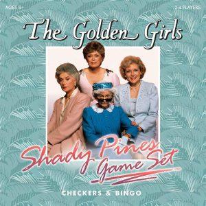 The Golden Girls Checkers and Bingo Set