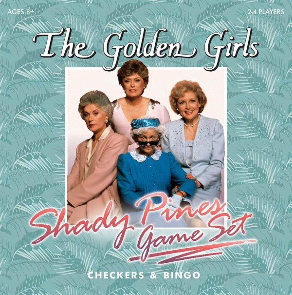 The Golden Girls Checkers and Bingo Set