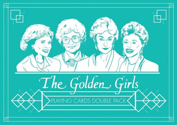 The Golden Girls Double Pack Playing Cards
