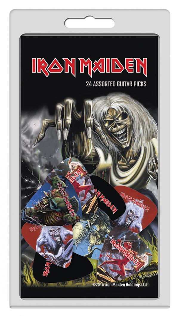 Iron Maiden 24pk Guitar Picks