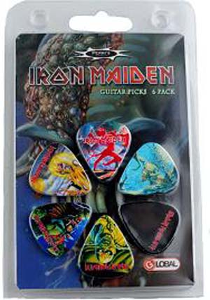Iron Maiden 6pk Guitar Picks