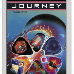 Journey 6pk Guitar Picks