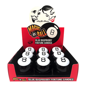 Magic 8 Ball Fortune Candy Tin