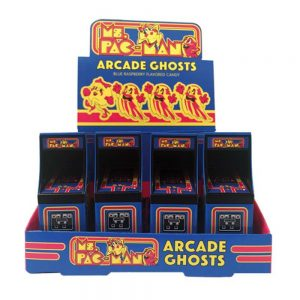 Ms Pac Man Arcade Candy Tin