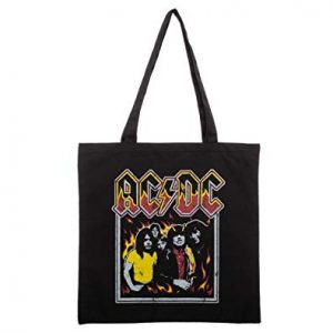 ACDC Canvas Tote Bag