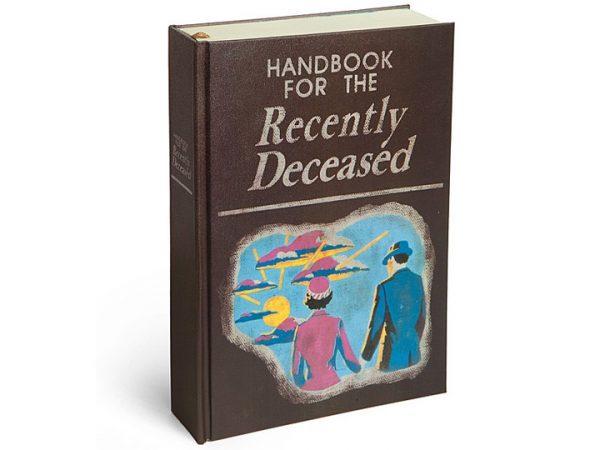 Beetlejuice 'Handbook' Journal