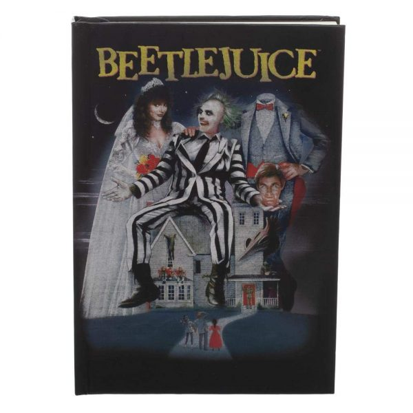 Beetlejuice Movie Poster Journal