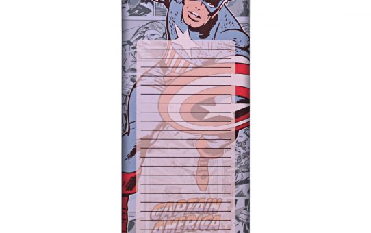 Captain America Magnetic Notepad