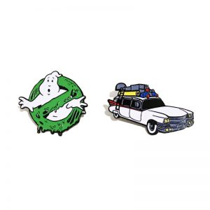 Ghostbusters Lapel Pin Set