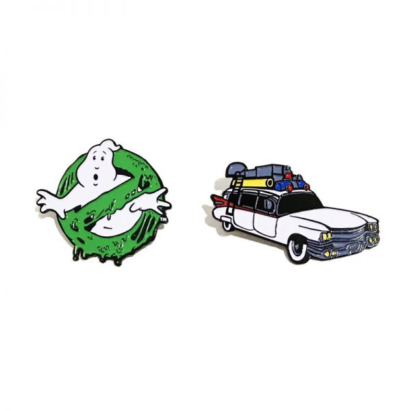 Ghostbusters Lapel Pin Set