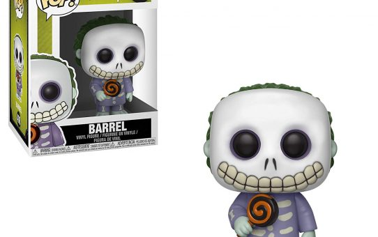 Nightmare Before Christmas Barrel Funko Pop Vinyl