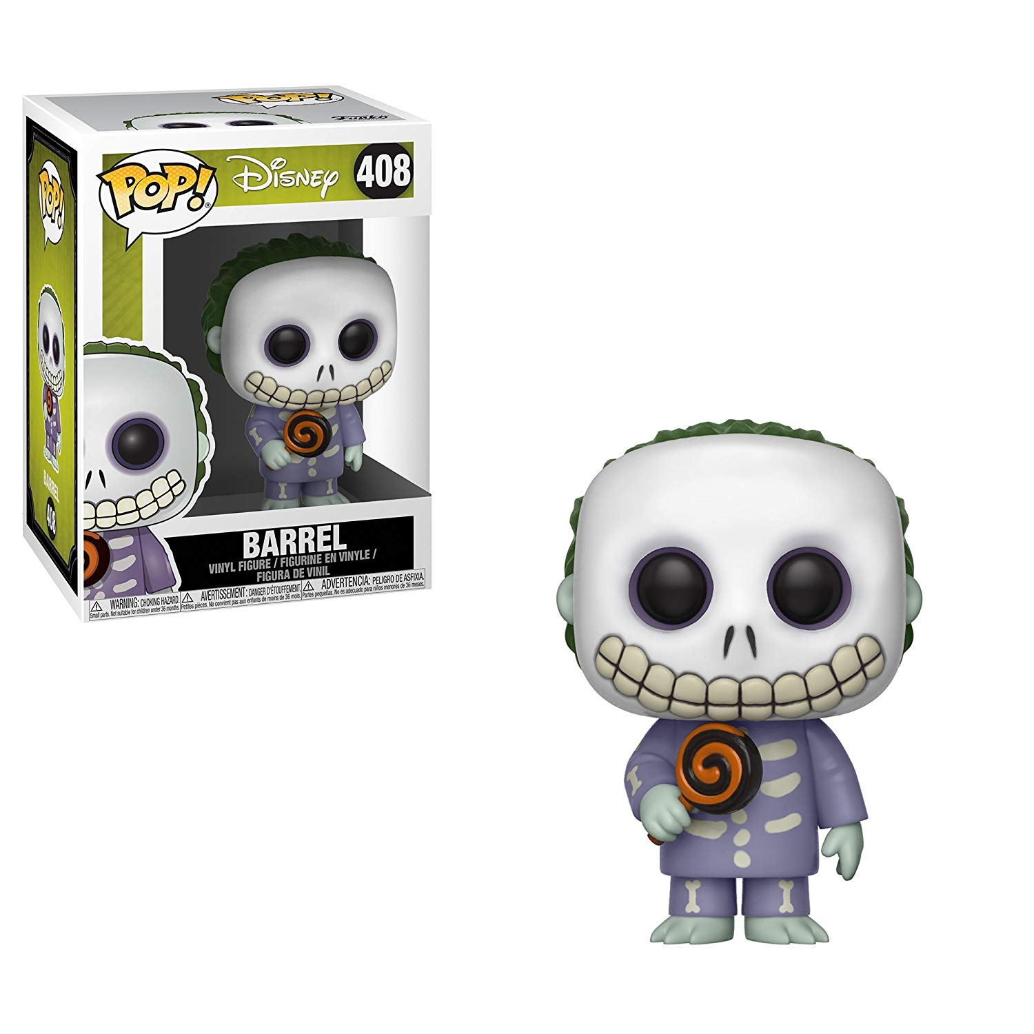 bda5fdf4a6b89 Nightmare Before Christmas Barrel Funko Pop Vinyl - Shop Retro Active