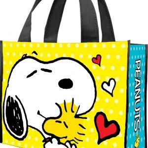 Peanuts Love Shopper Tote Bag