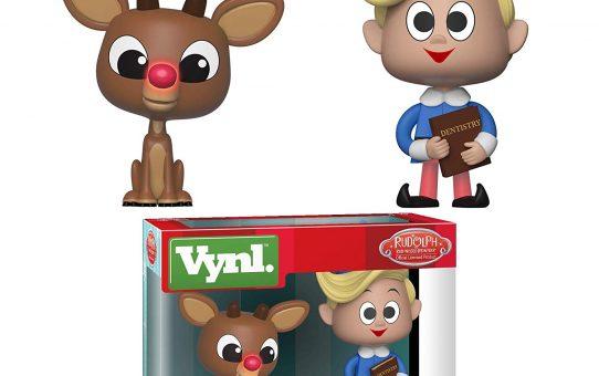 Rudolph & Hermey 2pk Funko Vynl