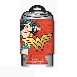 Wonder Woman Foil Logo Coozie