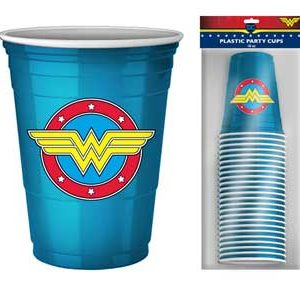 Wonder Woman Party Cups