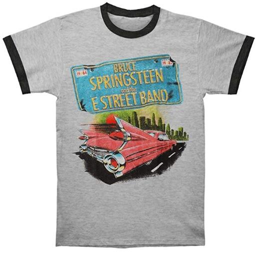 Bruce Springsteen Pink Car