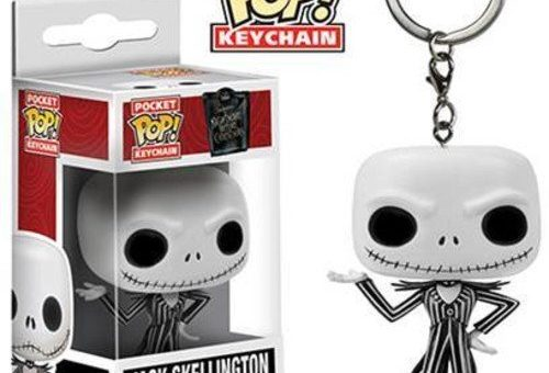 Nightmare Before Christmas Jack Funko Pop Keychain