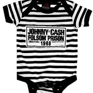 Johnny Cash Folsom Onesie