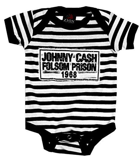 Johnny Cash Folsom Onesie