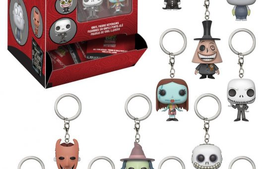 Nightmare Before Christmas Funko Blind Bag Keychain