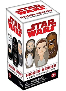 Star Wars Mini Mystery Nesting Dolls