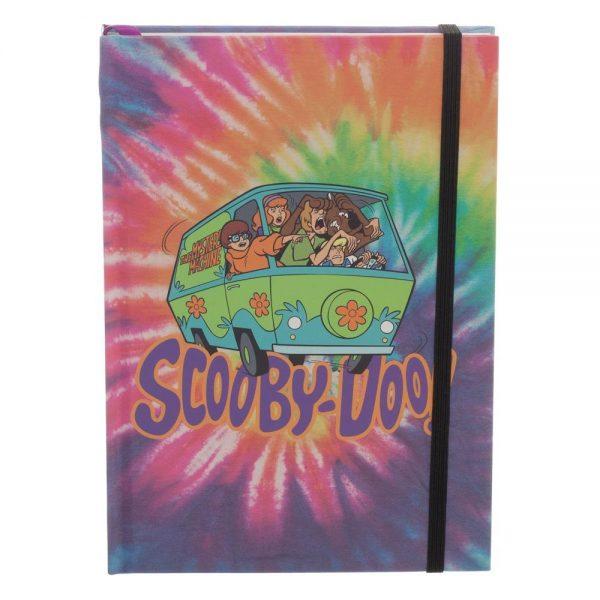 Scooby Doo Tye Dye Journal