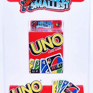 World's Smallest Uno Cards