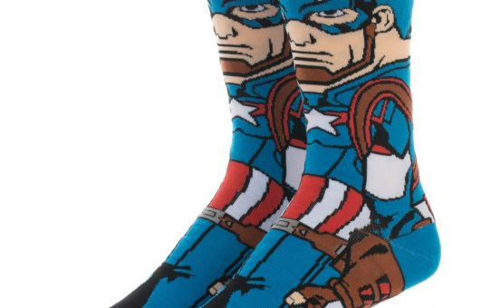 Avengers Captain America Socks