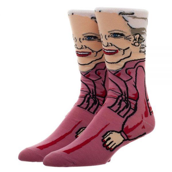 Golden Girls Rose Socks
