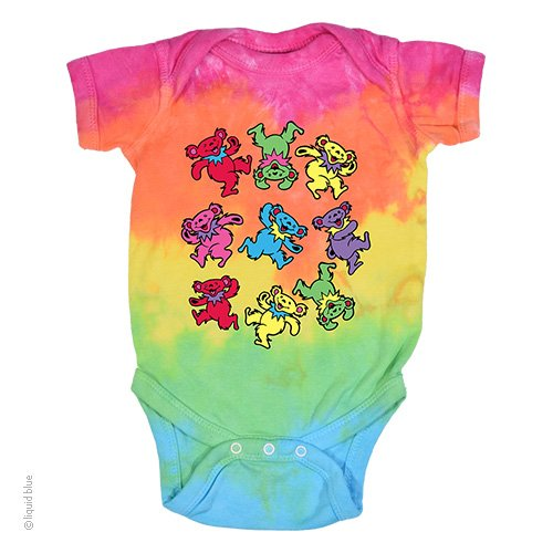 Grateful Dead Bears Onesie