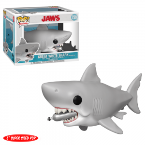 Jaws Shark With Tank Funko Pop Vinyl