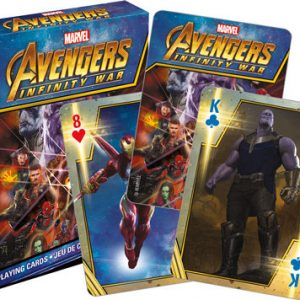 Marvel Avengers Infinity War Playing Cards