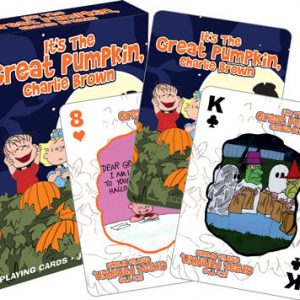 Peanuts Halloween Playing Cards