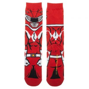 Power Rangers Red Ranger Socks