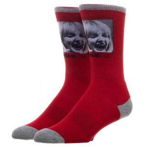 Scream 'Favorite Scary Movie' Socks