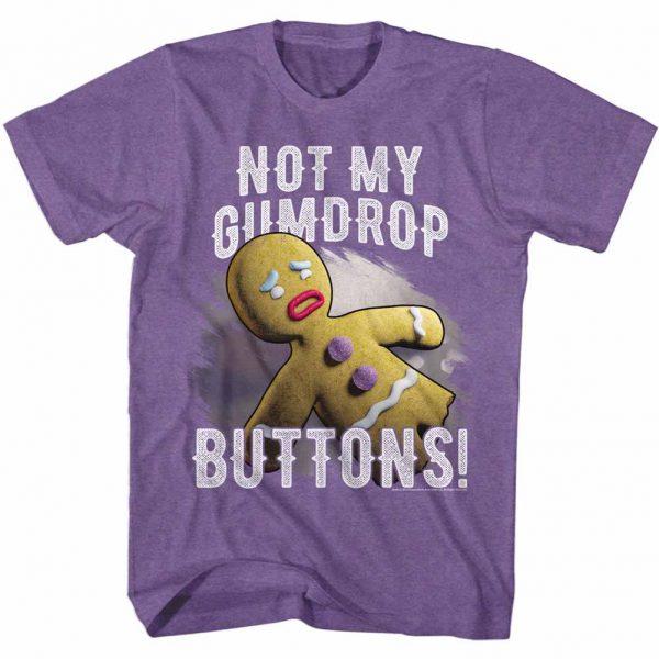 Shrek Gumdrop Button