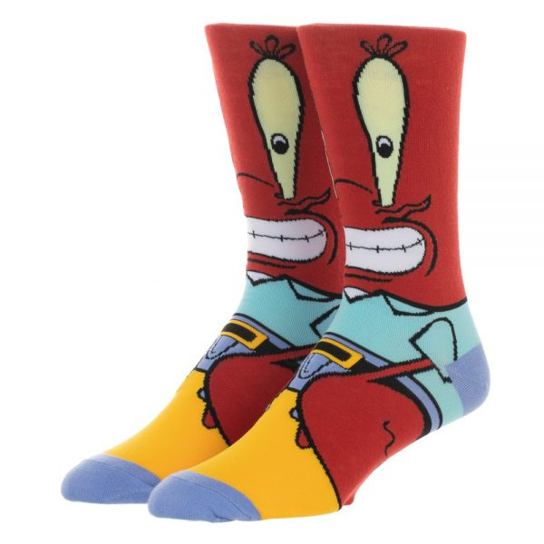 Spongebob Squarepants Mr. Krabs Socks