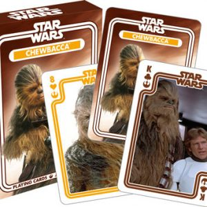 Star Wars Chewy Playing Cards