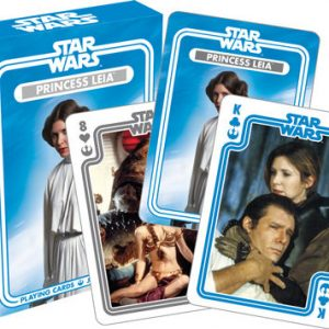 Star Wars Leia Playing Cards