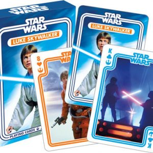Star Wars Luke Skywalker Playing Cards