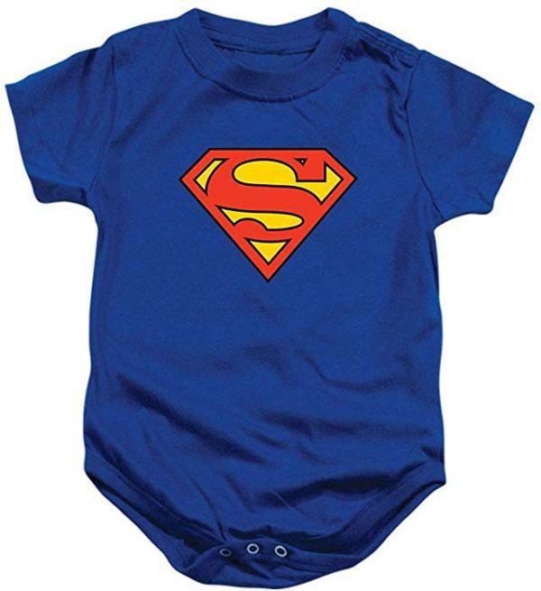 Superman Logo Onesie