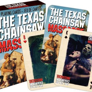 Texas Chainsaw Playing Cards