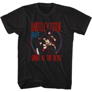 Motley Crue Shout 83 Tour
