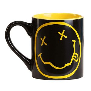 Nirvana Smiley Mug